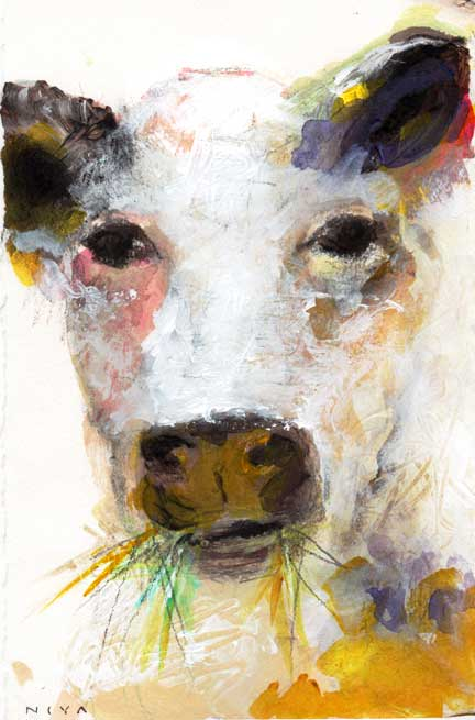 French Cow by Niya Christine. Copyright