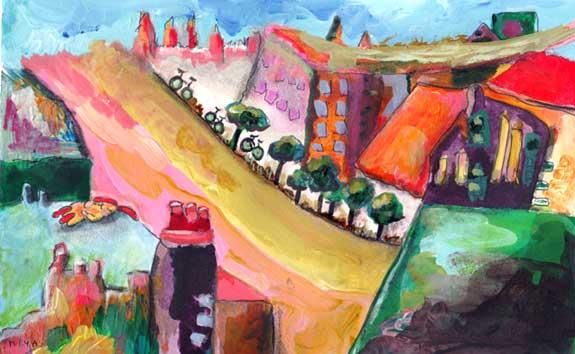 Copyright Niya Christine. Story Paintings