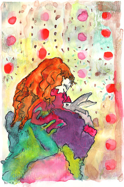 Niya Christine Painting. Copyright