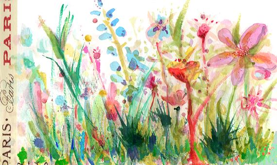 Watercolor by Niya Christine. Copyright