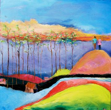 Oil Painting by Niya Christine